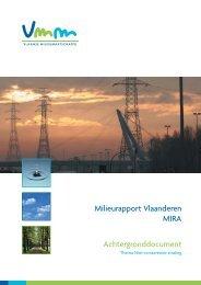 Niet-ioniserende straling - Milieurapport Vlaanderen MIRA