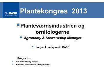 Planteværnsindustrien og ornitologerne - LandbrugsInfo