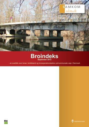 Broindeks 2012 - Vejdirektoratet