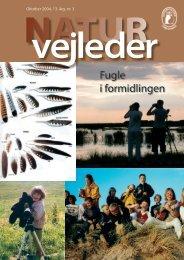 Fugle i formidlingen - Naturvejlederforeningen i Danmark
