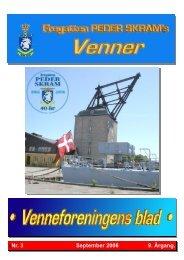 Blad nr. 3 september 2006 - Peder Skrams Venner