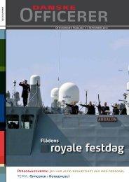 royale festdag - Hovedorganisationen af Officerer i Danmark