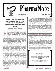 December 2010 - College of Pharmacy - University of Florida