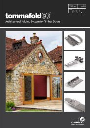 Architectural Folding System for Timber Doors - CMS
