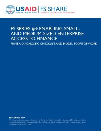 Financial management of small medium and