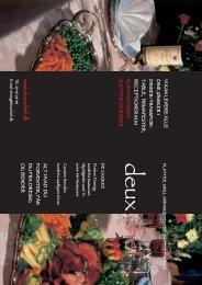 Download / Print PDF brochure - Deux Chef
