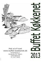 Brochure 2013 1 - Buffet køkkenet