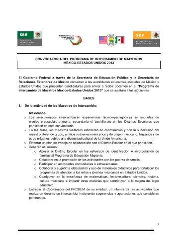 Convocatoria maestro altamirano for Convocatoria de maestros