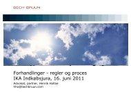 Dansk præsentation - IKA.dk