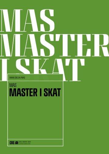 Master i skat - CBS