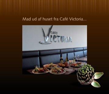 Mad ud af huset brochuren - Cafe Victoria