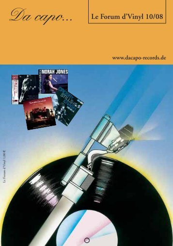 Le Forum d´Vinyl Ausgabe Oktober 2008 - Da capo