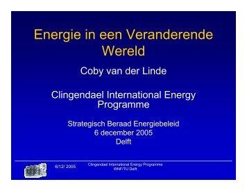 Energie in een Veranderende Wereld