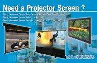 Need a Projector Screen - TigerDirect.com