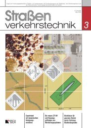 Straßenverkehrstechnik 03-2003
