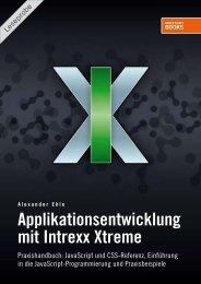Applikationsentwicklung mit Intrexx Xtreme