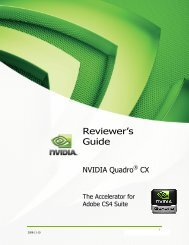 Reviewer's Guide