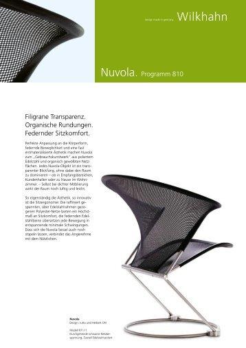Nuvola. Programm 810 Filigrane Transparenz. Organische - Wilkhahn