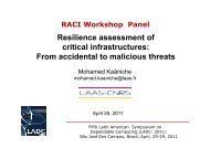 Resilience assessment of critical infrastructures: From accidental to ...
