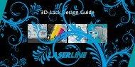 Strukturen für 3d-Lack - Laserline
