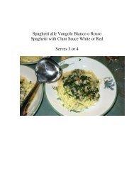 Spaghetti alle Vongole Bianco o Rosso - The Geriatric Gourmet