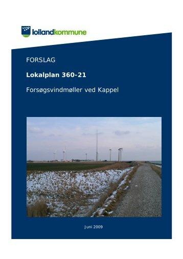 forslag til lokalplan 360-21 - Hosting by Talk Active