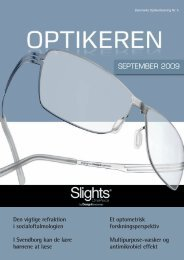 SEPTEMBER 2009 - Danmarks Optikerforening