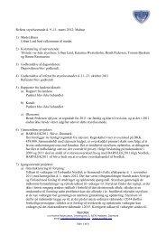 Referat styrelsesmøde d. 9.-11. marts 2012; Malmø 1 ... - NORDLEK