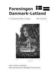 Blad nr. 3 -2005 - Foreningen Danmark - Letland
