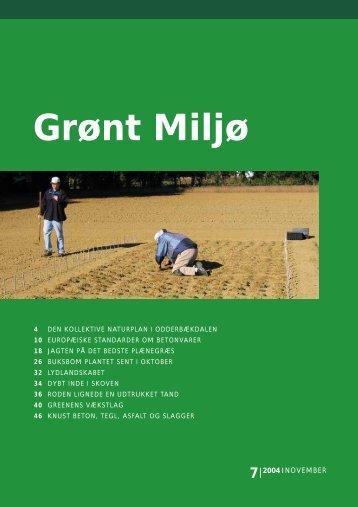 7 - Grønt Miljø