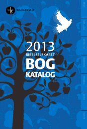 Download katalog - Bibelselskabet
