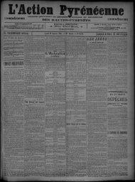 10 Janvier 1910 - Bibliothèque de Toulouse