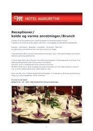 Print hele Menuen - Hotel Margrethe