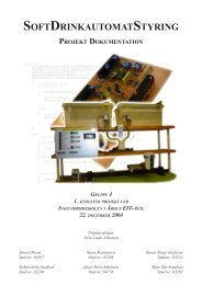 1. Semester EIT: SDS, Dokumentation [pdf] - sorenr.dk