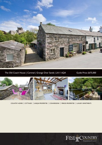 The Old Coach House | Cartmel | Grange Over ... - Fine & Country