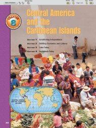 Chapter 8: Central America and the Caribbean Islands