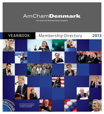 2013 Yearbook & Membership Directory - American Chamber of ...
