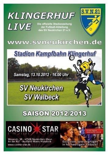 Stadionheft Nr.04 - SV Neukirchen