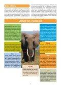 Infoblad olifanten - Wereld Natuur Fonds - Page 3