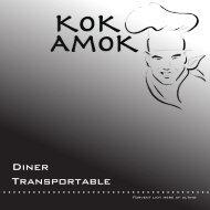 Diner Transpotable - Kok Amok