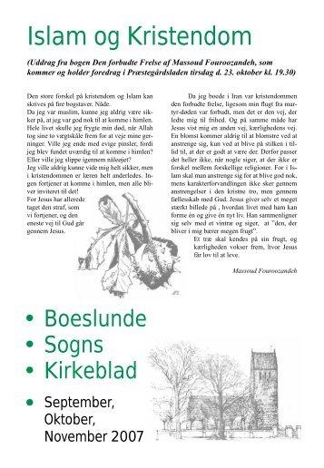 Islam og Kristendom - Boeslunde Kirke