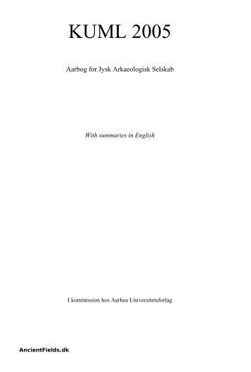 Download TEXT (2358 KB pdf) - AncientFields.dk