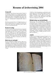 Resume af årsberetning 2004