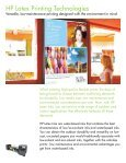 HP LateX Ink aPPLIcatIonS - Page 3