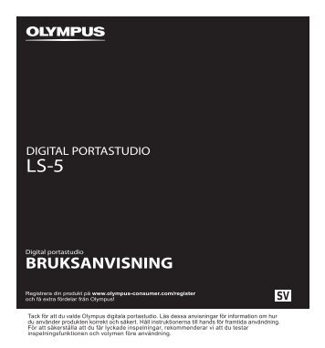 PDF manual - Olympus