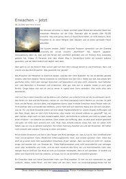 Erwachen – jetzt - Oneness 24