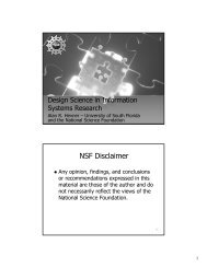 Design Science In Information Systems Research Misrc