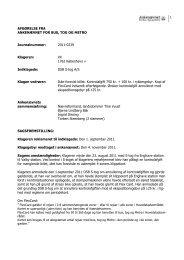 Afgørelse 2011-0239, 26. marts 2012 - DSB S-tog - Ankenævnet for ...