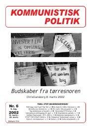 KP6, 2002 - Kommunistisk Politik