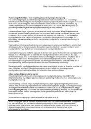 Bilag 4 til rammeaftalen mellem AU og MIM 2012 ... - Miljøministeriet
